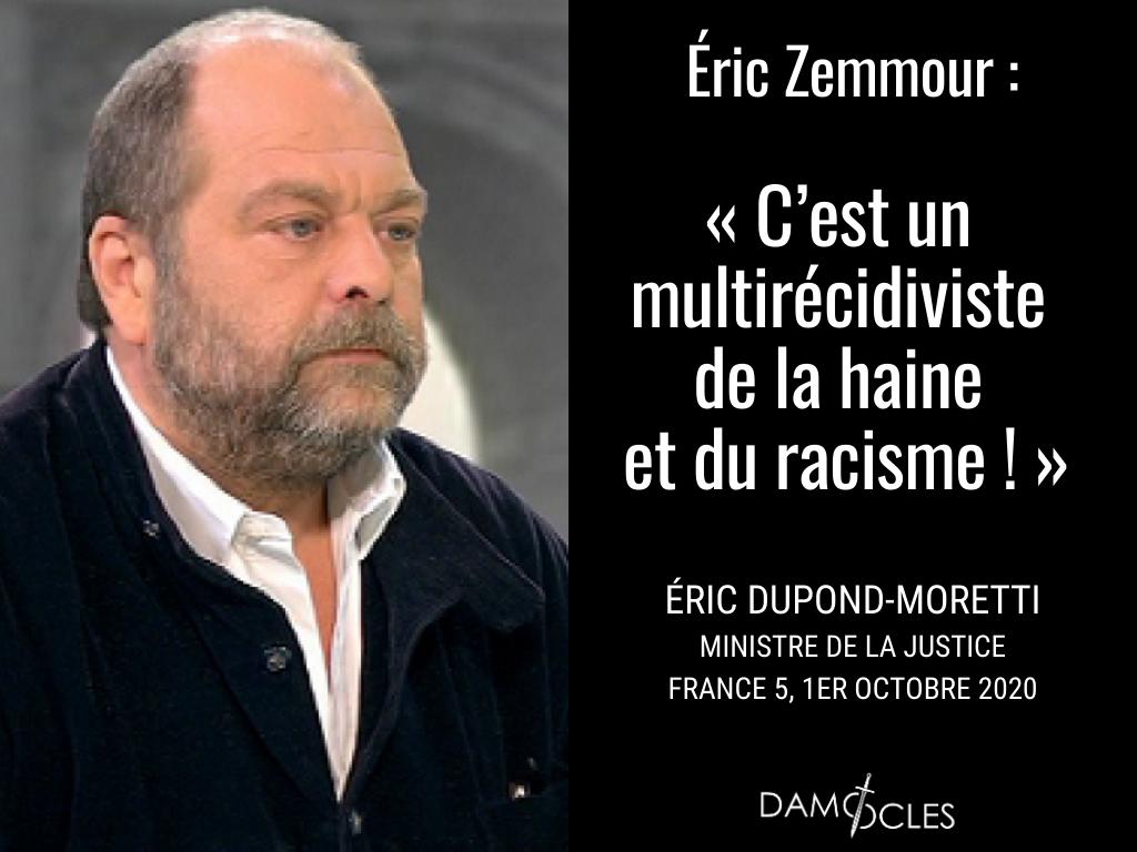 Eric Dupond-Moretti, censeur